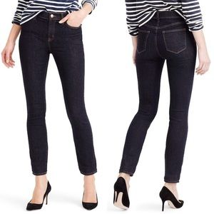 J. CREW Lookout High Rise Jeans in Resin Size 29
